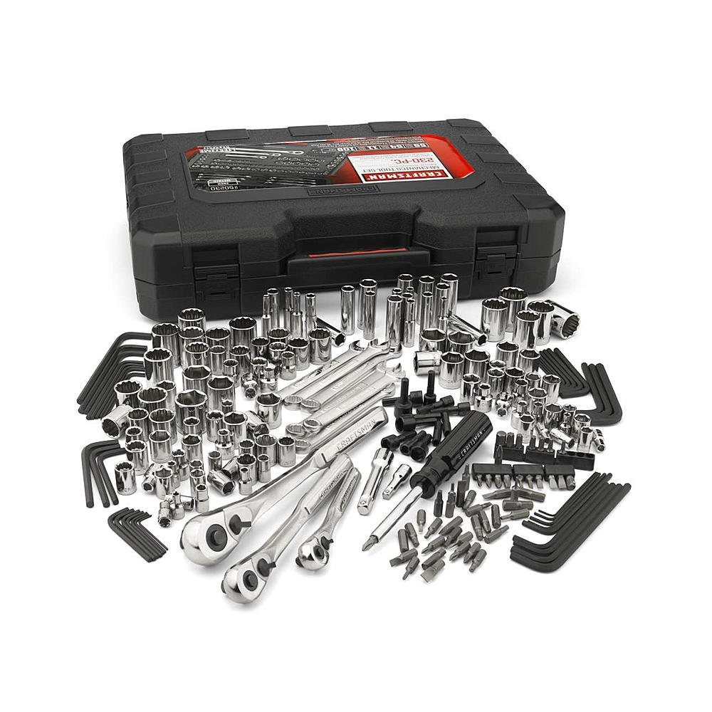 Craftsman 230-Piece Mechanics Tool Set, 50230, Silver, 1 Set