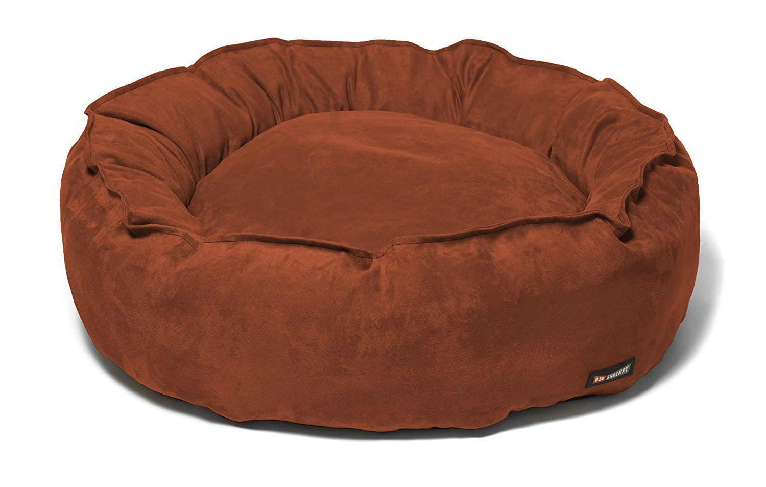 Paprika Suede Small Paprika Suede Small Big Shrimpy 3710 Nest Faux Bed, Small, Paprika Suede