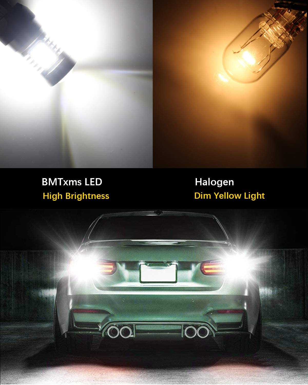 1156 LED Bulbs Reverse Light BA15S 7506 1003 1141 P21W LED Bulbs with Projector Lens 1156 Led Replacement Bulb for LED Backup Lights Tail Light Lawn Mower CANBUS Error Free DRL Lights Brake Light