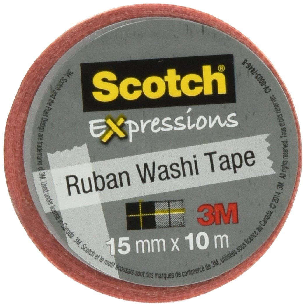 MMMC314P22 - Scotch Expressions Washi Tape
