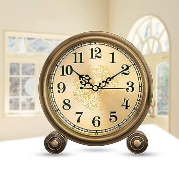 IG Reloj de Mesa Reloj de Escritorio Estilo Europeo Reloj ...