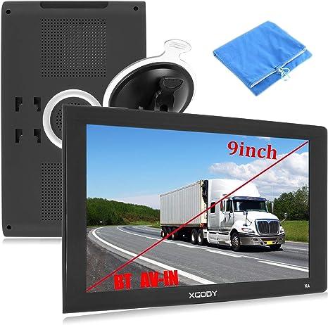 Amazon.com: GPS de 9 pulgadas para camión, gran pantalla ...