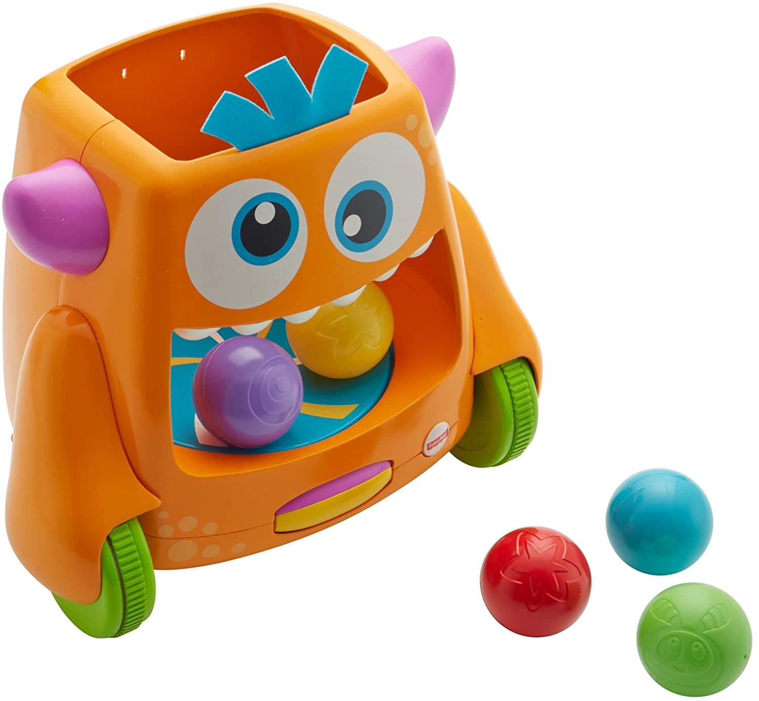 Amazon Fisher Price Zoom n Crawl Monster Toy Toys & Games