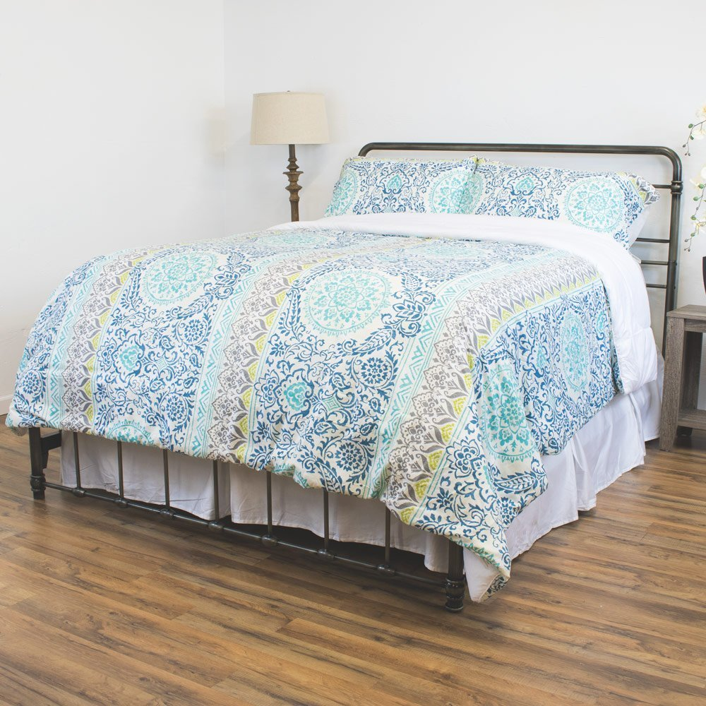 Reversible Down Alternative 3 Piece Comforter Set, Full/Queen
