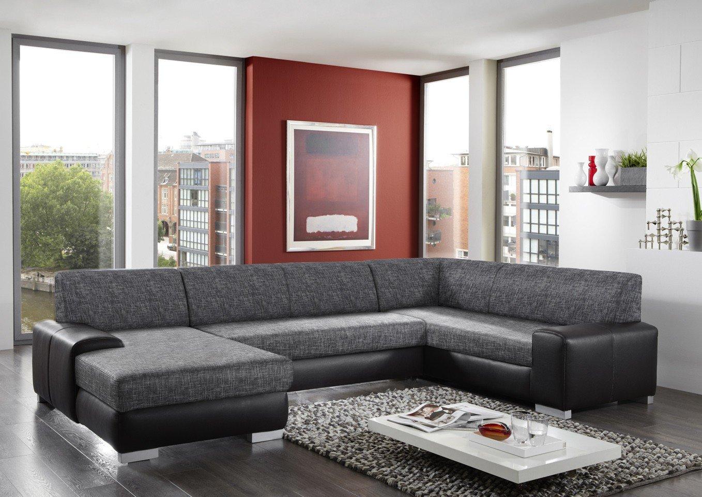 Sofagarnitur Sofa Couchgarnitur Couch Ecksofa GRANADA mit Farbauswahl NEU
