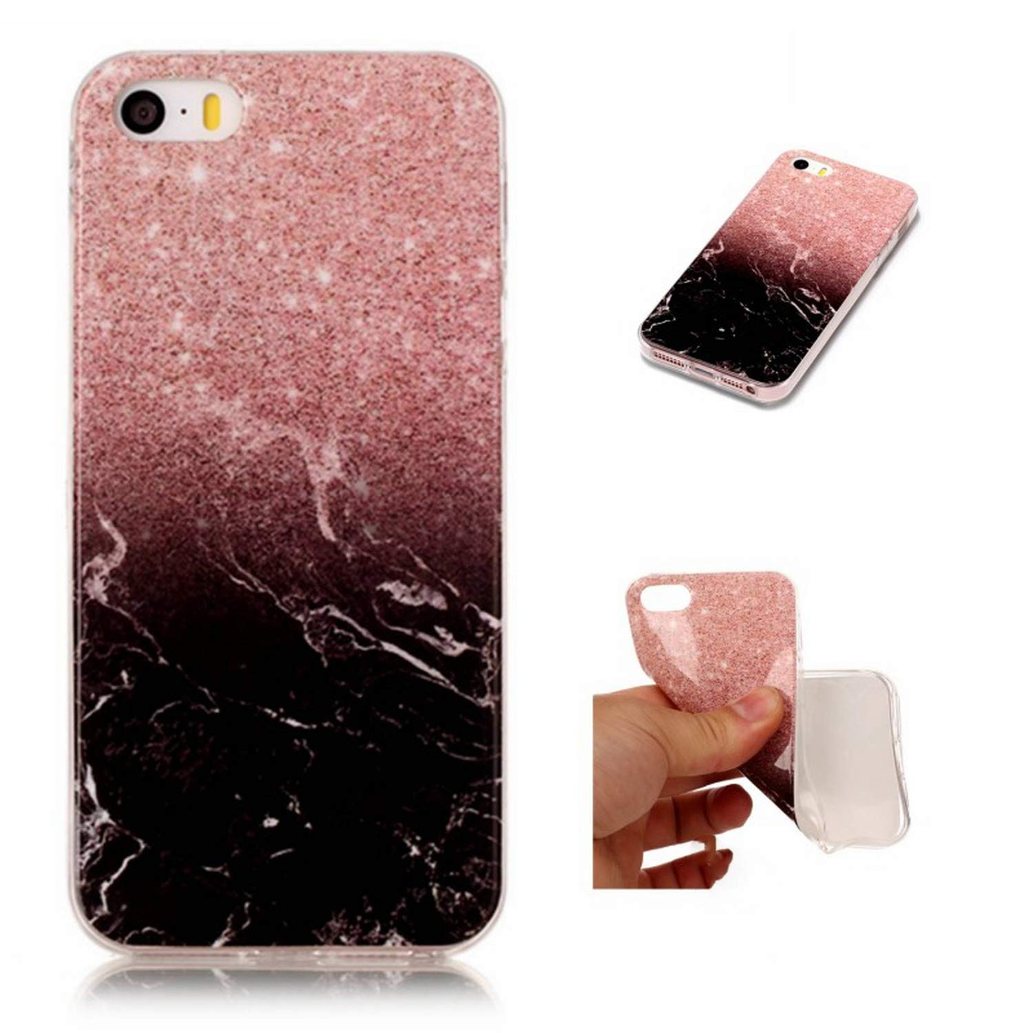 Amazon.com: Silicon Cover Case for iPhone 5C SE 5S 5 S C ...