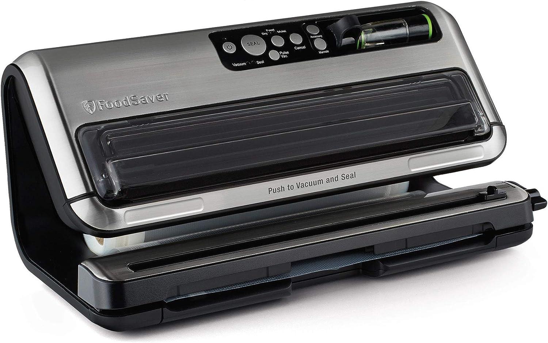 Foodsaver DAZA000088, Black Silver FM5480 2in1 Food Preservation System, reg