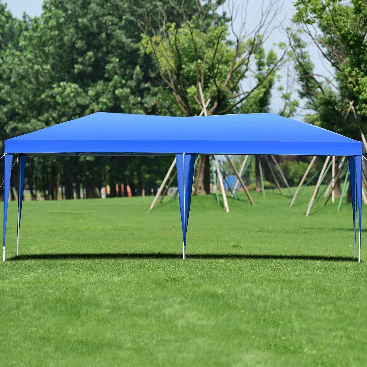 GOPLUS Tente de Jardin Tente de Réception Tonnelle de Jardin ...