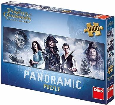 Dino Toys 545335 - Puzzle panorámico, diseño de Piratas del Caribe: Amazon.es: Juguetes y juegos