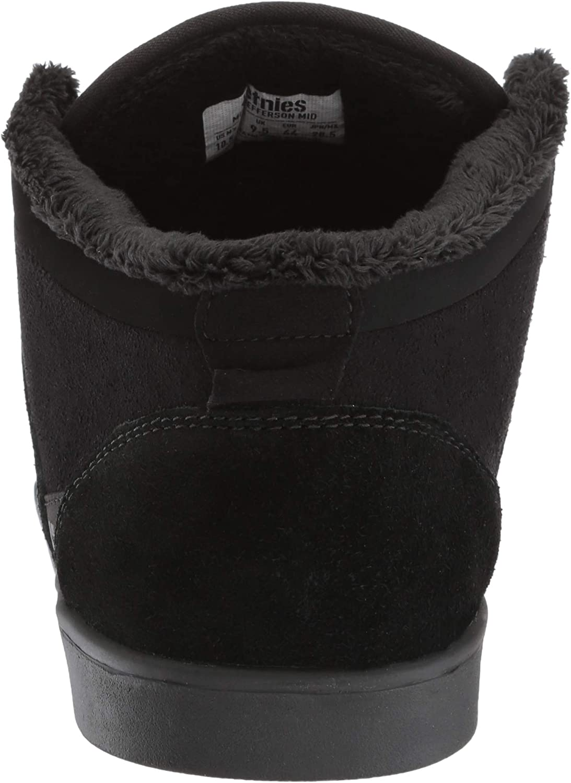 Etnies Jefferson Mid, Scarpe da Skateboard Uomo Nero 003 Black Black 003
