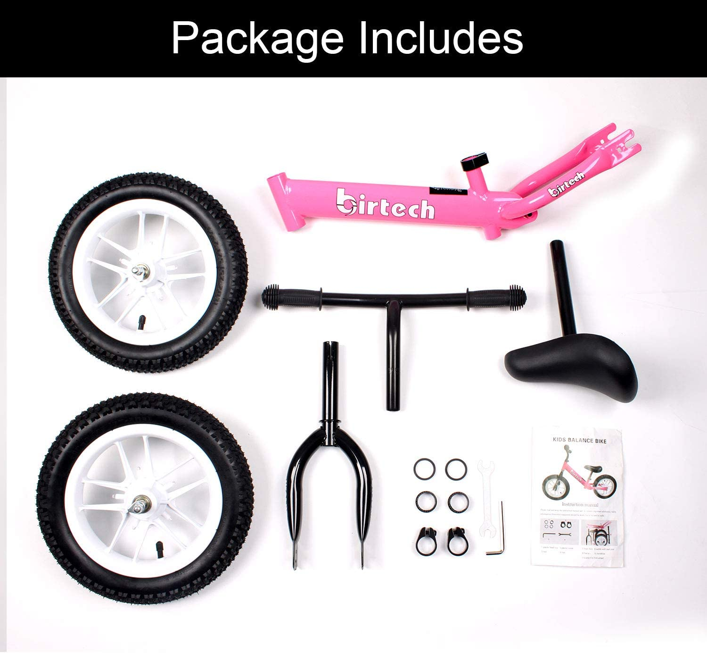 gaixample.org Hadwin Balance Bike for Boys Girls 12'' Carbon Steel ...