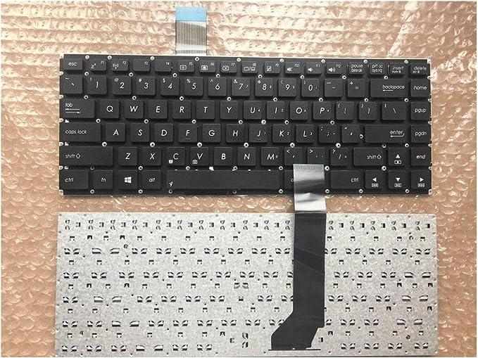 Laptop Keyboard Compatible for Asus K45 K45A K45V K45VD K45VJ K45VM K45VS US Layout Black Color No Frame