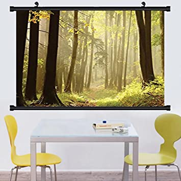 Amazon.com: Gzhihine Wall Scroll Farm House Decor Collection Trail ...