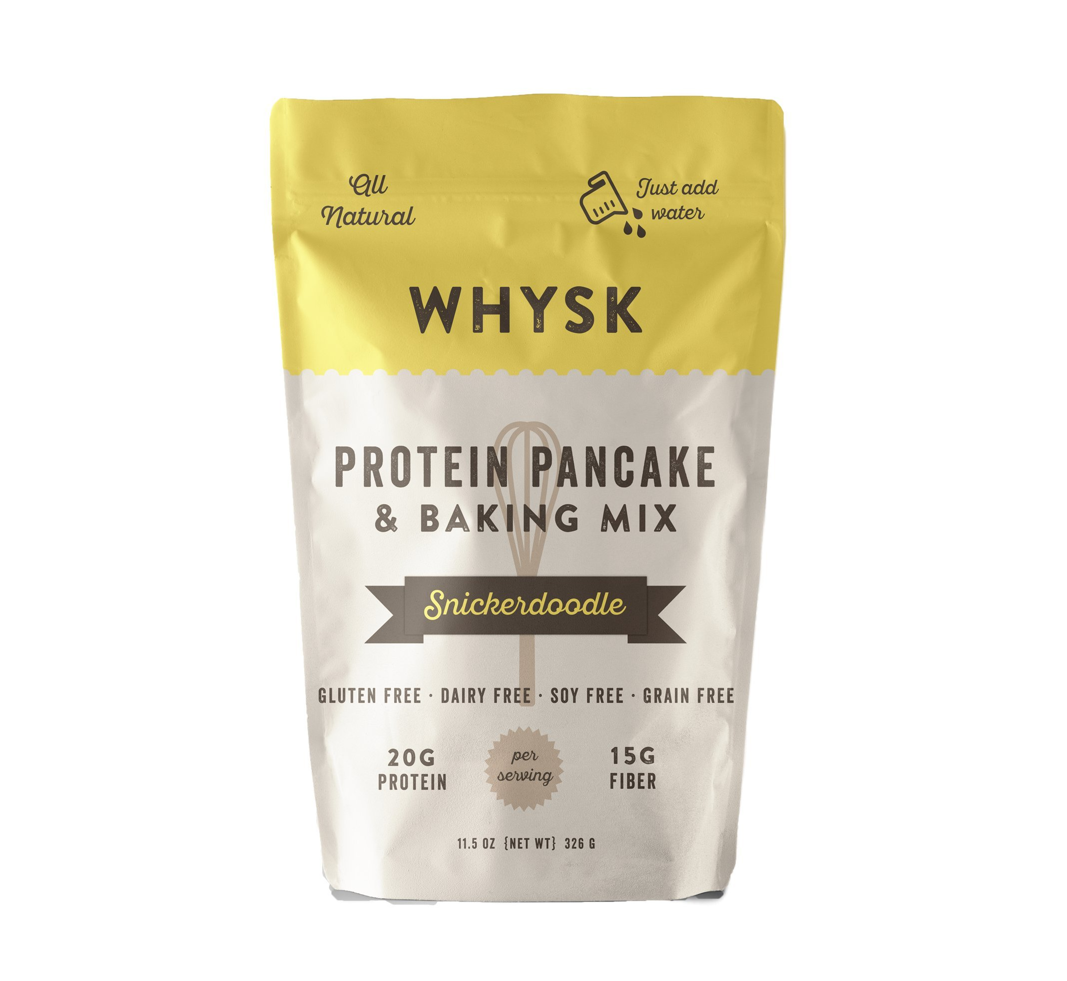 amazon com whysk protein pancake u0026 baking mix high protein fiber