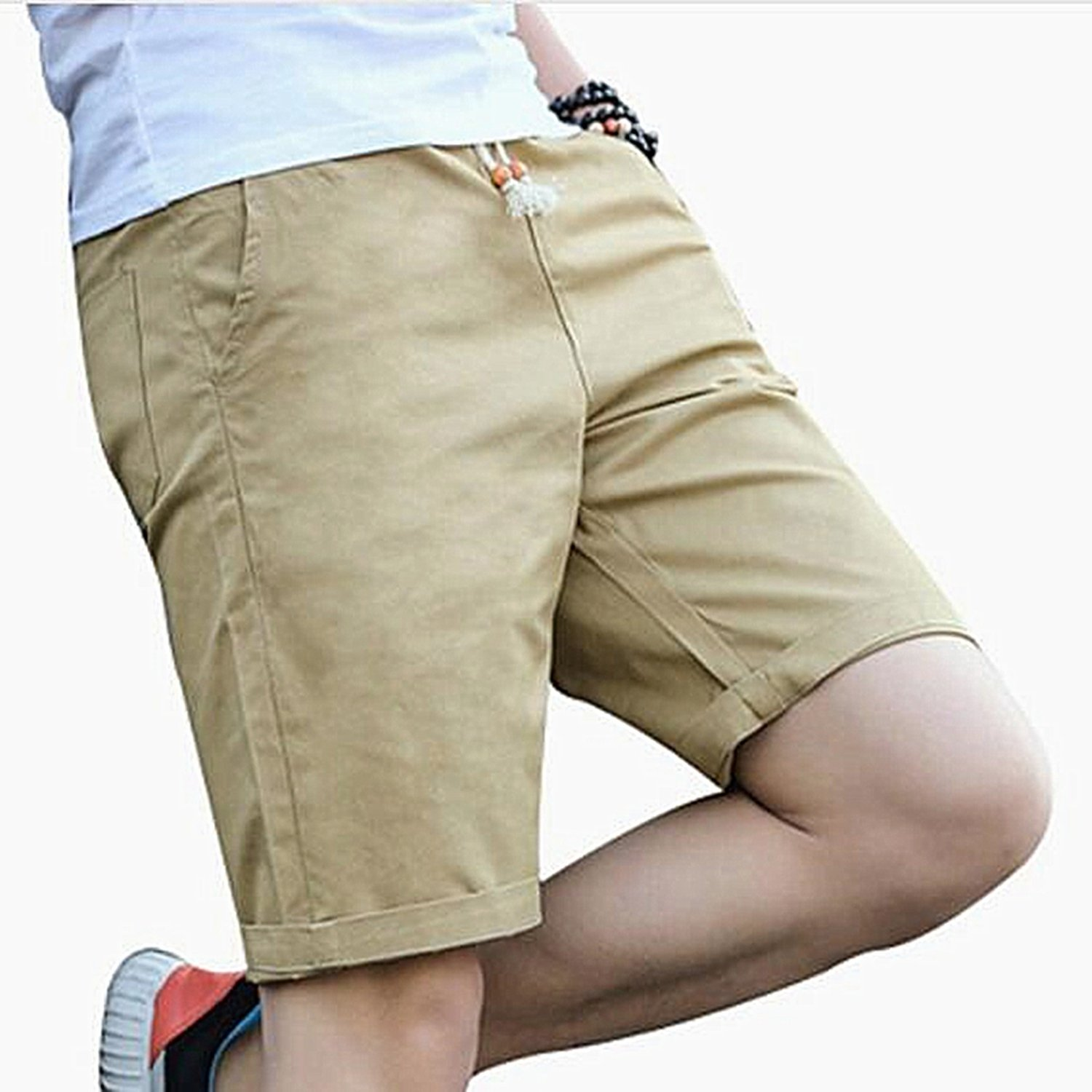 2019 Beach Shorts Homme Quality Bottoms Elastic Waist Fashion Brand Boardshorts Plus Size 5XL