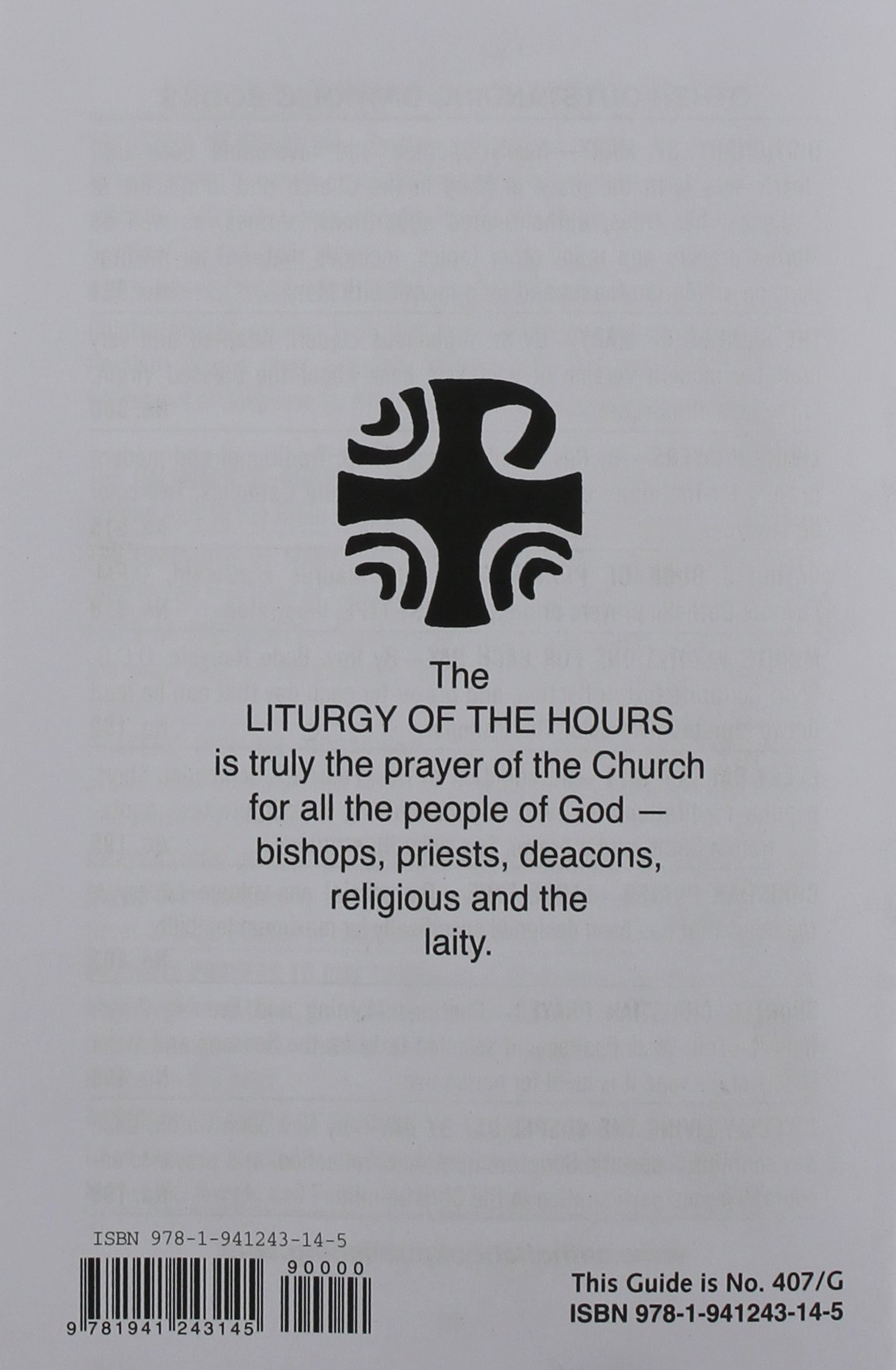 Saint Joseph Guide for Christian Prayer: The Liturgy of the Hours, for Use  with Edition No. 407: Catholic Book Publishing Corp: 9781941243145:  Amazon.com: ...