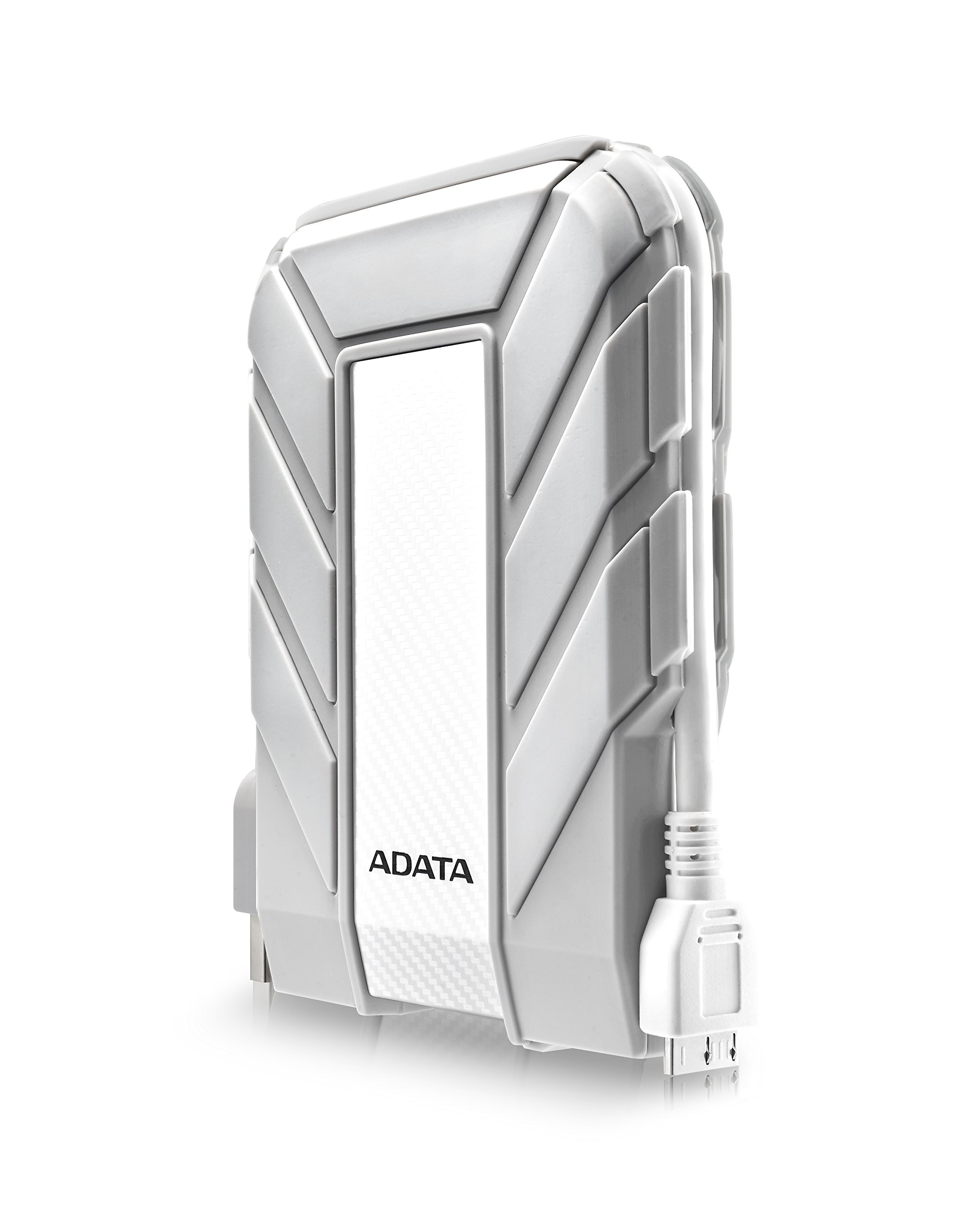 ADATA HD710A 2TB USB 3.0 Waterproof/ Dustproof/ Shock-Resistant Exlusive for Mac External Hard Drive, White (AHD710A-2TU3-CWH) by ADATA (Image #1)