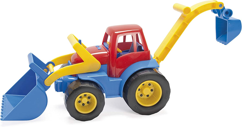 Dantoy BIO PLAST Traktor + Truck Kinder Outdoor Spielzeug