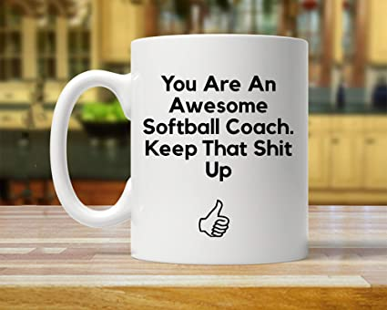 Amazoncom Softball Coach Gift Softball Coach Gifts Gift