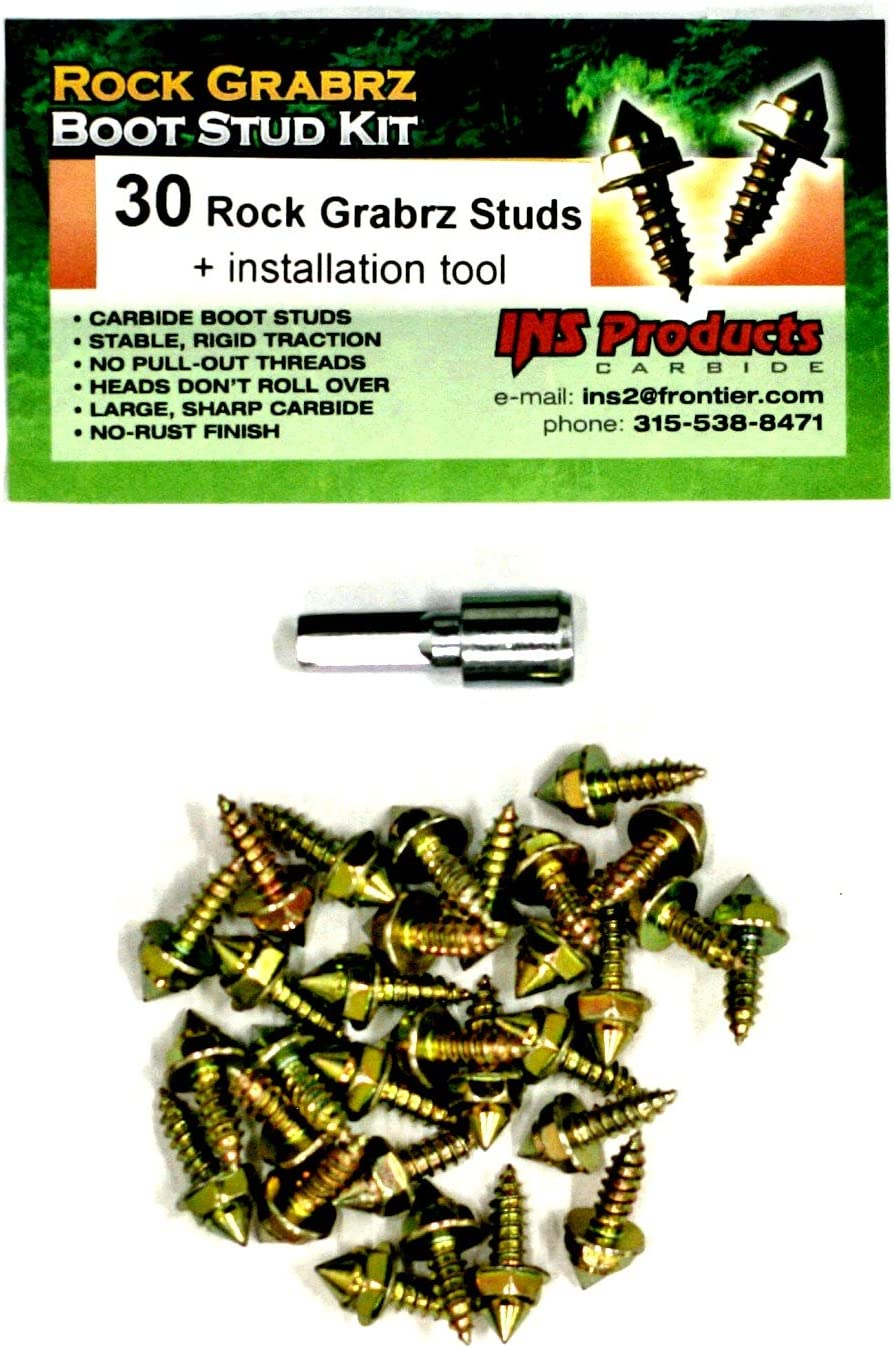 INS Products Rock Grabrz Boot Studs (30): Sports & Outdoors