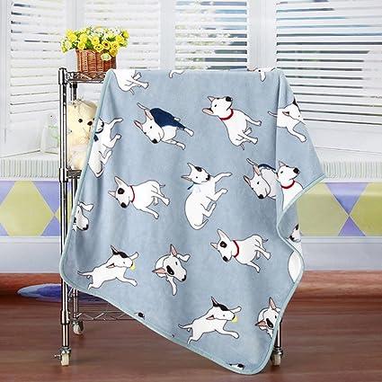 Exttlliy Manta de franela suave y acogedora para perros, gatos, mantas de cama para