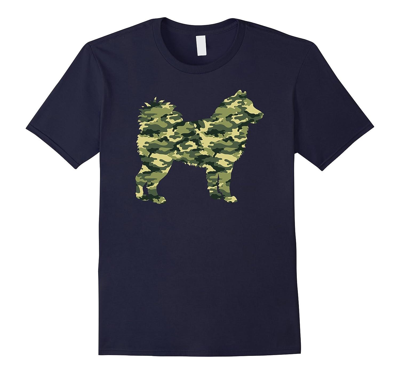 Camouflage ALASKAN MALAMUTE Military Army T-shirt-Art