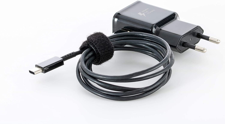 Klett Kabelbinder wiederverschlie/ßbar Rolle 10mm x 5m