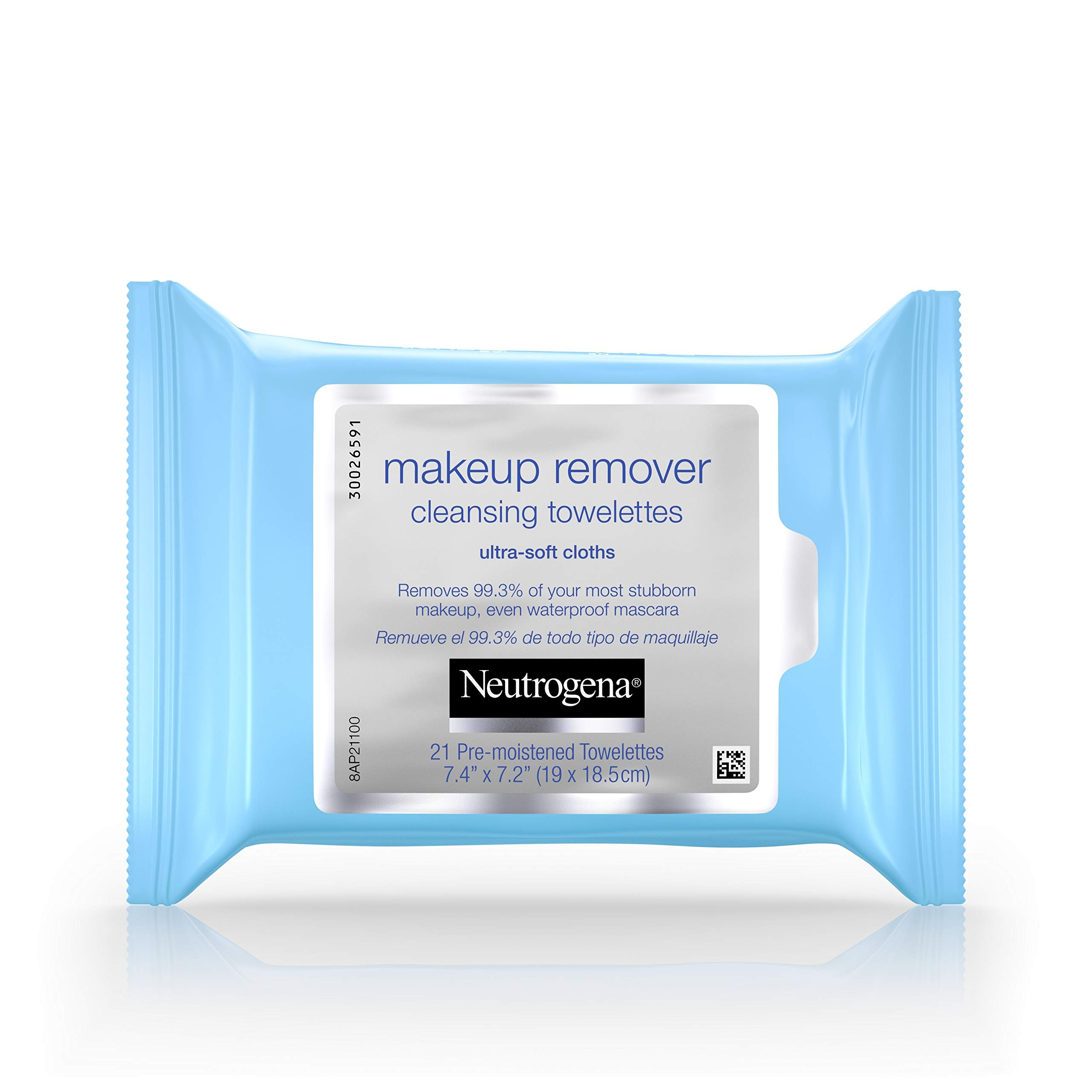 Neutrogena Makeup Remover Cleansing Towelettes & Wipes, 21 Count (Pack of 3) by Neutrogena