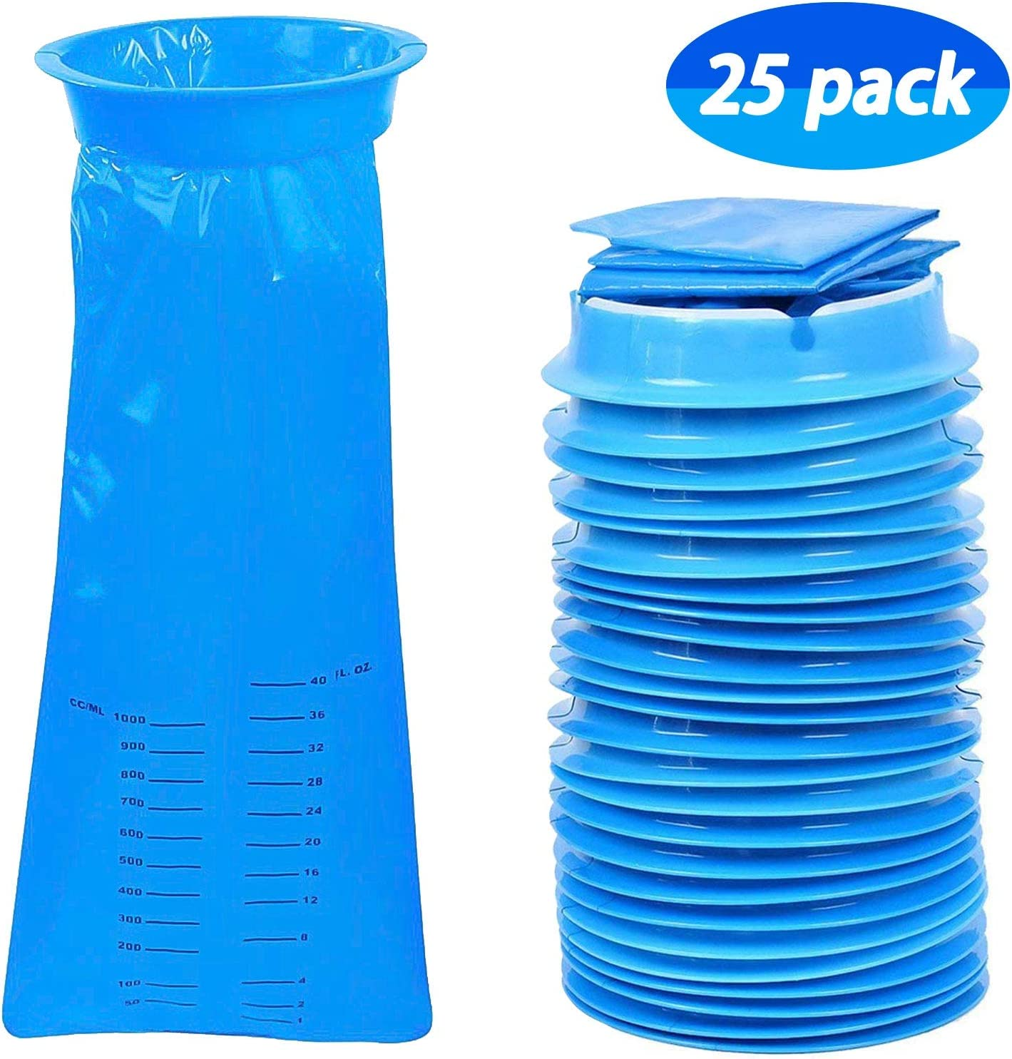 Vomit Bags, Disposable Emesis Bags, Motion Sickness Nausea Bags Sealable  for Waste Disposal, Sea, Car, Travel Hospital Pregnancy Kids Urine Adults  Portable Medical Grade, 1000ml, 25 Pack Blue: Amazon.co.uk: Health &  Personal