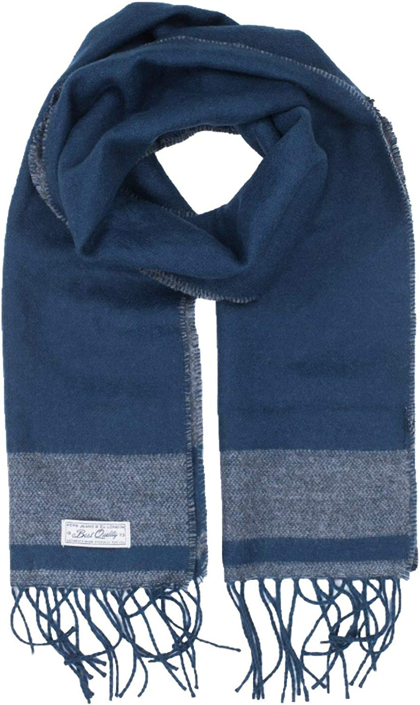 BUFANDA AZUL PARA HOMBRE PM110422 SCURA SCARF Pepe Jeans