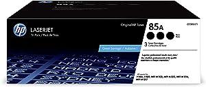 HP 85A | CE285AT1 | 3 Toner Cartridges | Black
