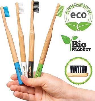 Cepillos de dientes Bambu blandos. Cepillos Ecológicos, 100 ...