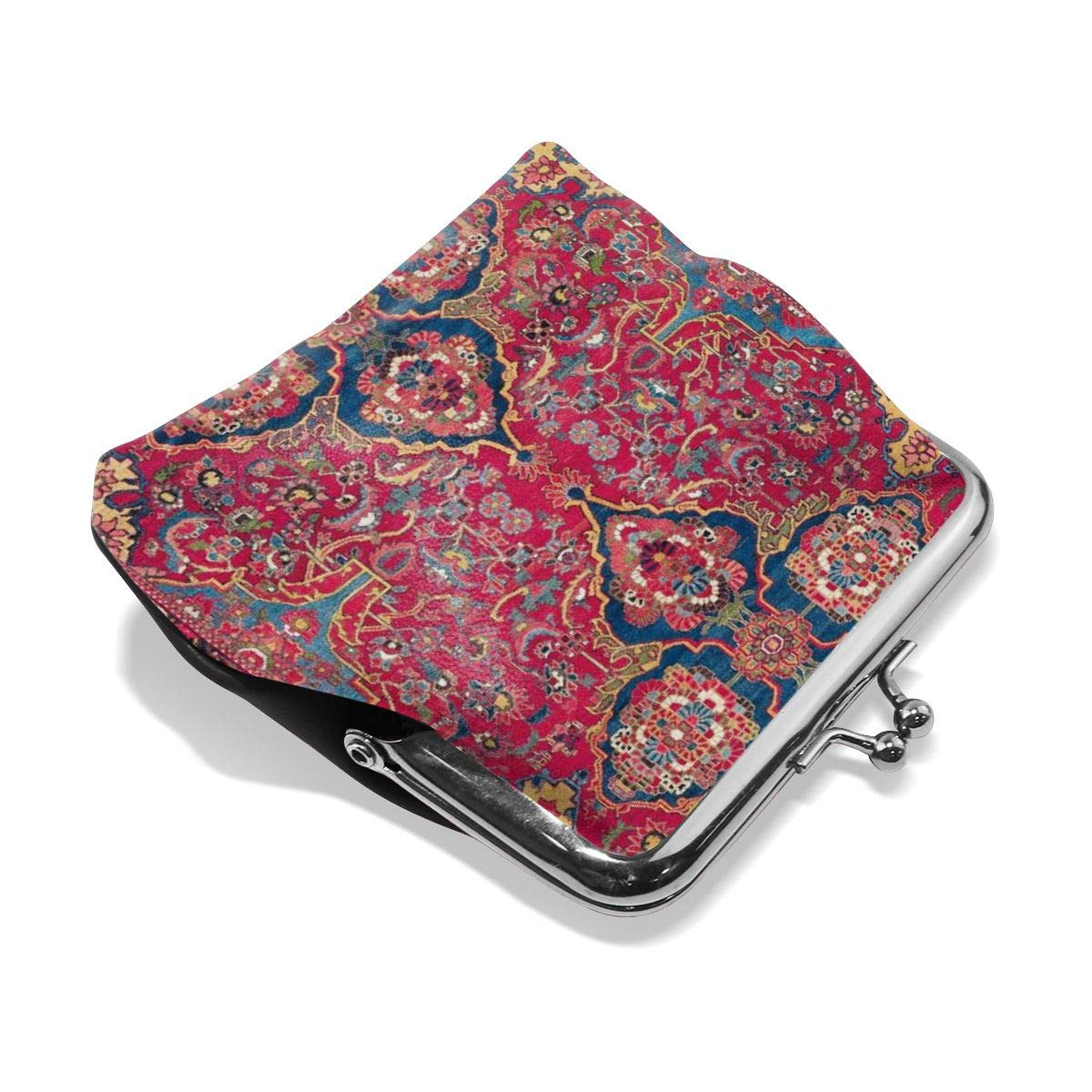 f126616e7580 Bakhtiari West Persian Rug Cute Buckle Leather Little Coin Purse ...