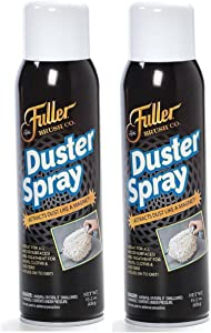 Fuller Brush Duster Spray – 2 Pack 15.5 oz - High Quality Multi Surface Dust Removing Sprayer - Safe Household Cleaning for Floors, Furniture, Blinds & Car Interiors