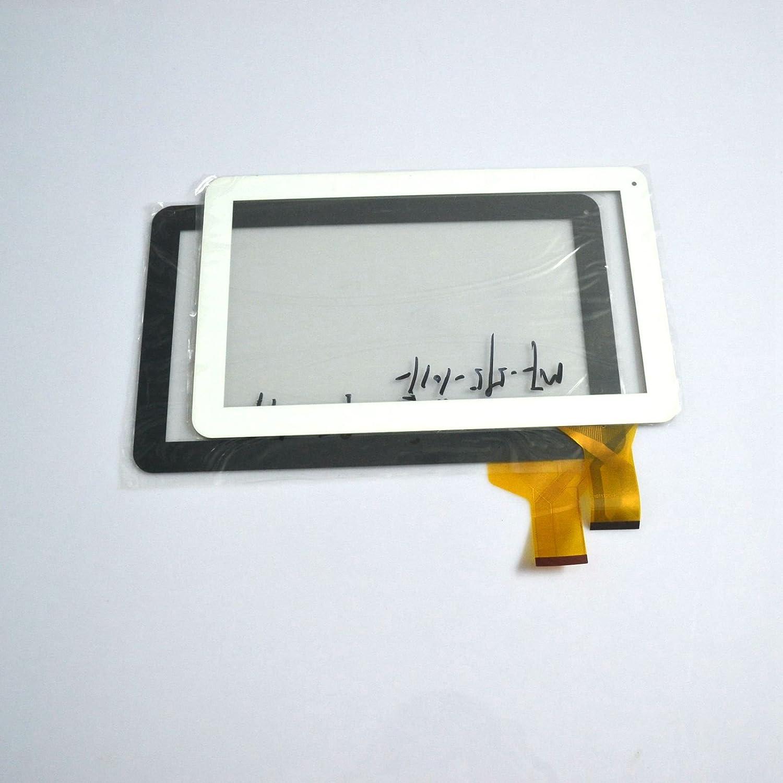 Negro Color EUTOPING /® De Nuevo 10.1 Pulgadas Pantalla tactil Digital La sustituci/ón de para SUNSTECH TAB101DC
