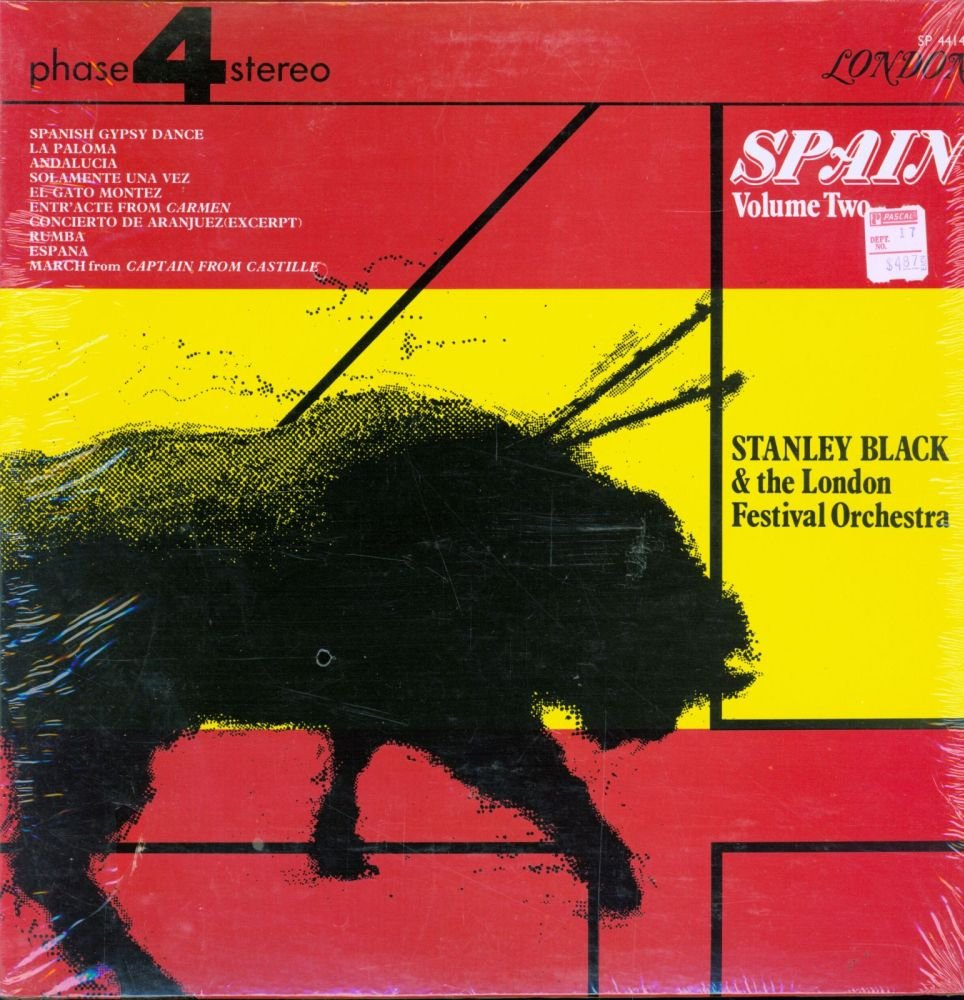 - Stanley Black - Spain Volume 2 - London Phase 4 Stereo - SP 44149 - Canada NM/NM LP - Amazon.com Music