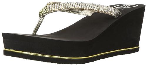 a647db21168154 Guess Women s Selexy Sandal  Amazon.co.uk  Shoes   Bags