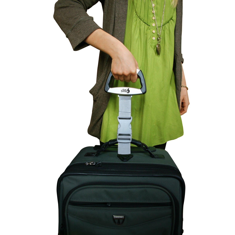 47ca17ce75f4 EatSmart Precision Voyager Digital Luggage Scale w   110 lb. Capacity     SmartGrip