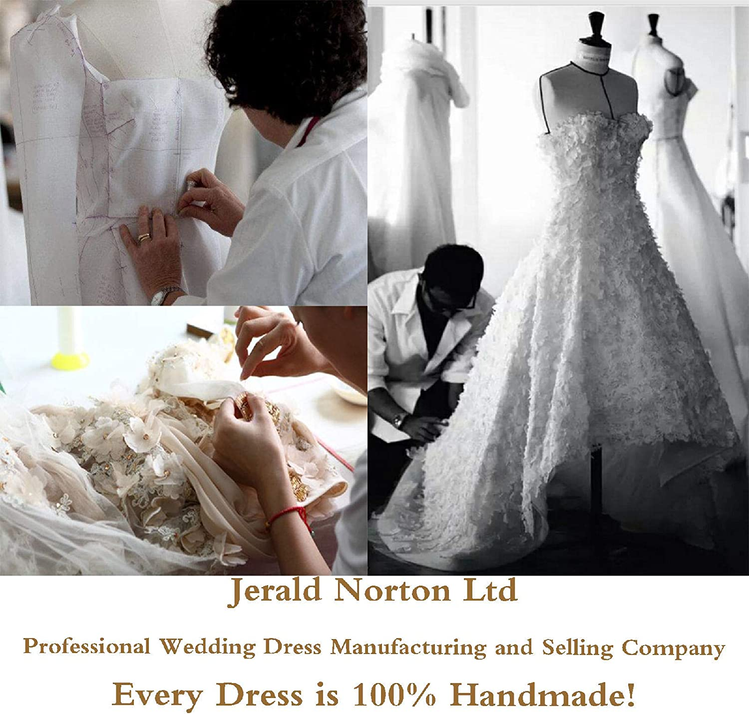 Jerald Norton Ltd Womens Floral Lace Cap Sleeves Illusion Sheath Gown with Crystal Sash