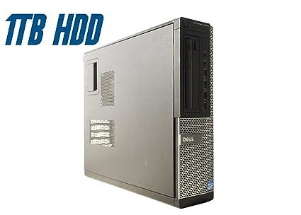 Dell OptiPlex 9010 DT (Intel Quad Core i7-3770 @ 3 40 GHz Up to 3 90 GHz, 8  GB RAM, 1 TB HDD, DVD, VGA, Display Port, Windows 10 Pro) (Renewed)