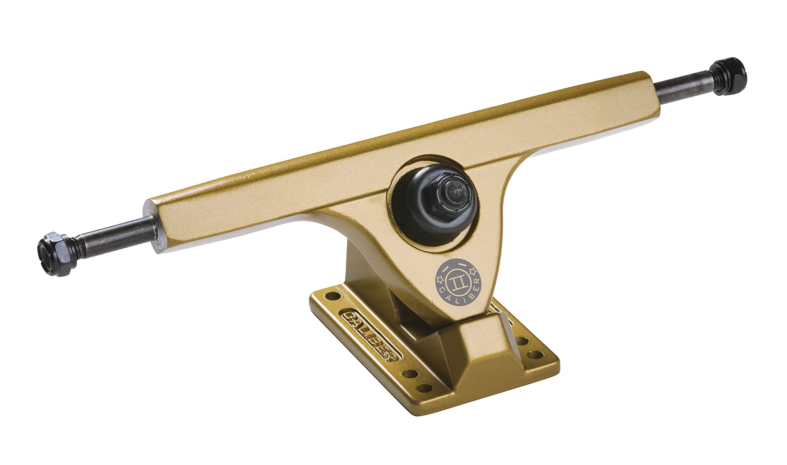 Caliber Trucks Cal II 50° RKP Longboard Trucks (Satin Gold) by Caliber Truck Co.