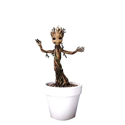 "Dragon Models 7"" Guardians of Galaxy - Baby Groot Model Kit, Action Hero Vignette: Toys & Games"