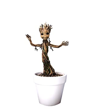 amazon com dragon models 7 guardians of galaxy baby groot model