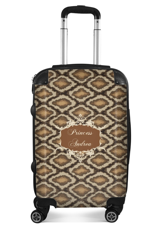 562eb51069a Amazon.com | Snake Skin Suitcase - 20