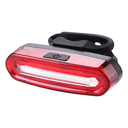 Ultra Bright Bike Light Cyborg X2 USB Rechargeable Bicycle Tail Light Red High