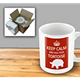 Pet Lover Designer Mug - Keep Calm And Hug Your Tortoise