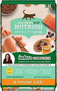 Rachael Ray Nutrish Indoor Complete Dry Cat Food (18 lbs.)