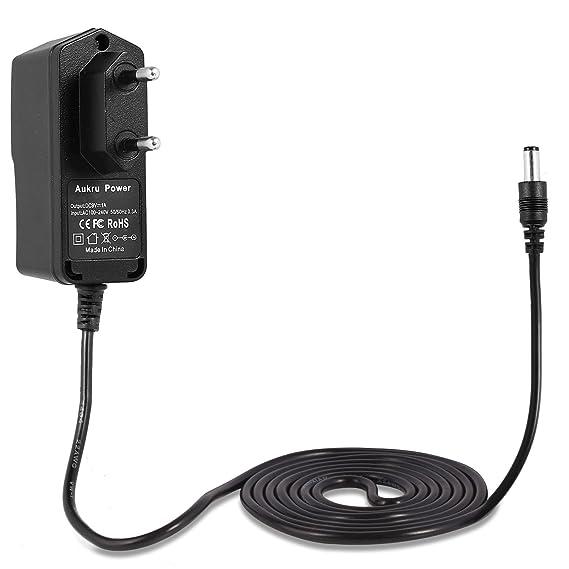 Aukru® 9V 1000mA alimentador Cargador 5.5mm x 2.1mm para Arduino Uno REV 3: Amazon.es: Electrónica