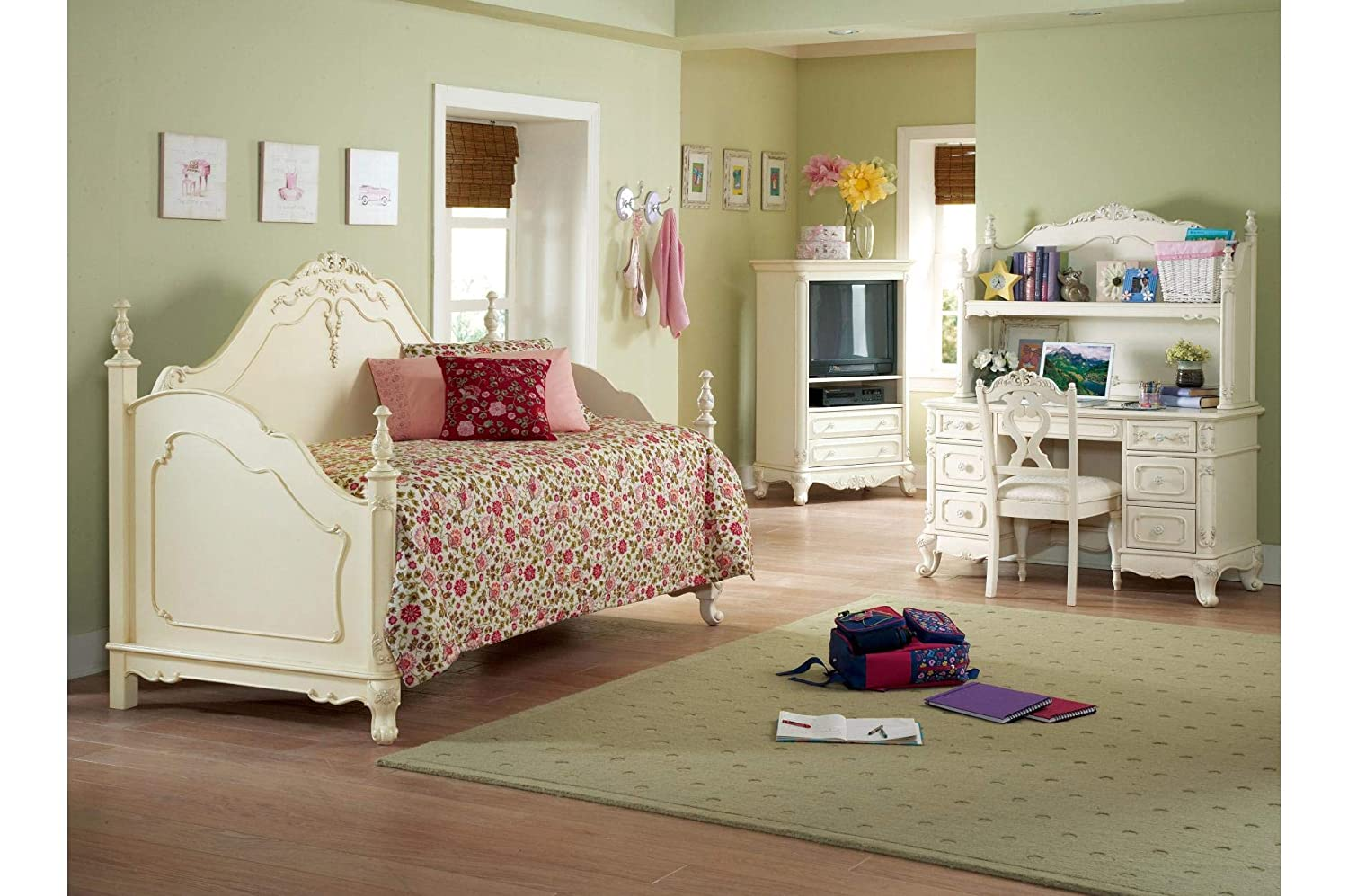 Amazon.com - Homelegance Cinderella Youth Bedroom 5Pc Set w ...