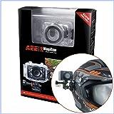 [サイドヘルメットPACK]ウェアラブルカメラ(アクションカム) AEE Magicam SD21 国内正規品 [日本語マニュアル・保証書付]